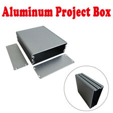Aluminum Project Box Enclosure Case Electronic DIY Instrument Case 44x122x140mm