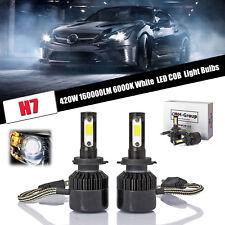 LED Headlight H7 420W 160000LM 6000K Low Beam Power for 2008 - 2012 Audi TT !
