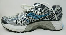 SAUCONY WOMEN'S PROGRID GUIDE 3 WHITE/NVY/BL RUNNING / ATHLETIC SHOES SIZE 7/M