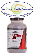 Beverly International ULTRA 40 100% Grass Fed Argentine Beef Liver 500 Tablets