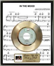 Robert Plant In The Mood Vinyl Record Sheet Music Poster Art Plaque