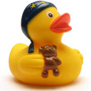 SLEEPY RUBBER DUCK - Novelty Gift - Many Designs To Collect