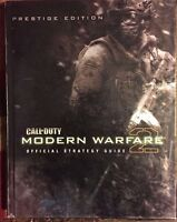 CALL OF DUTY MODERN WARFARE 2 PRESTIGE EDITION STRATEGY GUIDE FREE SHIPPING