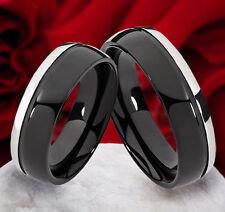 Unisex Modeschmuck-Ringe im Band-Stil aus Titan