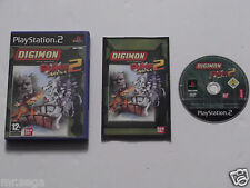 DIGIMON RUMBLE ARENA 2 for PLAYSTATION 2 'VERY RARE & HARD TO FIND'