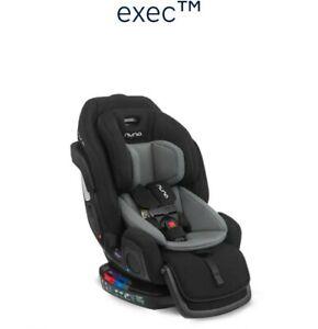 Nuna EXEC All-In-One Car Seat in Caviar Color NIB