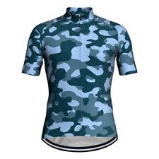Cycling Jersey Short Bicycle Bib Bike MTB Shirt Clothing Camo Military Army Top