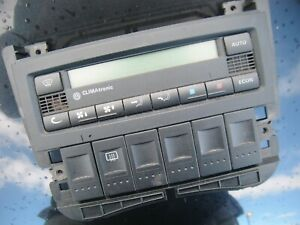 VW POLO 1.6 16v GTI 6N2 99-01 CLIMATE HEATER CONTROL PANEL CLIMAtronic
