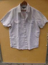fc10932af90f Banana Republic льняная смесь мужская повседневная рубашка в полоску размер  L