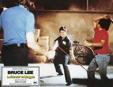 BRUCE LEE LA FUREUR DU DRAGON 1972 VINTAGE LOBBY CARD ORIGINAL #15
