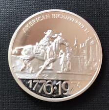 Engelhard Mint Silver Round NJ Bicentennial 1976 Very Rare