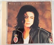 Michael Jackson Who Is It Ultra Rare US Maxi CD Single Cat 49K74420 Good Cond.