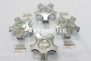 Lexus LS430 2001-2003 OEM Genuine Wheel Hub Center Cap Cover Ornament Set Of 4
