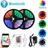 Bluetooth LED Strip Light 20M RGB 5050 SMD Flexible Ribbon 12V Bluetooth Control