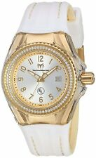 Technomarine TM-416025 Eva Longoria Women's 34mm Gold-Tone Silver Dial Watch