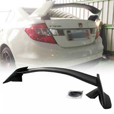 2012-2015 For Honda Civic 9 Saloon 4DR TYPE-R RS Rear Trunk Spoiler Wing Unpaint