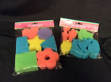 Fun Sponges Crafter's Square Set of 2 New Sealed
