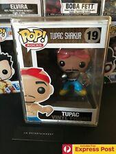 TUPAC SHAKUR FUNKO POP ROCKS VINYL FIGURE #19 NEW - SOME BOX DAMAGE - VAULTED