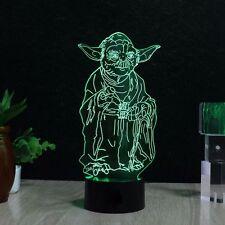 3D Star Wars Yoda Night Lamp