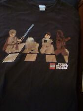 Wow! Cool Lego Star Wars Abbey Road Parody T-Shirt, Size Large, Nice Shape!