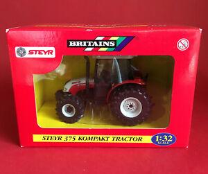 2005- Britains 1/32 Steyr 375 Kompakt Tractor No42023 MIB