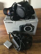 canon EOS 450 D camera body with bag in excellent condition