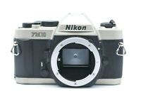 [EXC+++++] NIKON FM10 35mm SLR Film Camera Silver Body Only From Japan #837