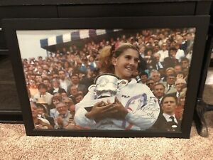 Monica Seles Signed Framed 30x20 JSA N14989