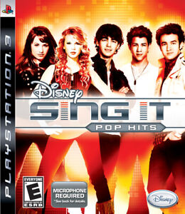 Disney Sing It: Pop Hits Sony PlayStation 3 PS3 Game