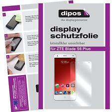 2x ZTE Blade S6 Plus Film de protection d'écran protecteur cristal clair