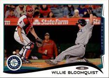2014 Topps Update #US49 Willie Bloomquist Seattle Mariners