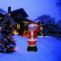 1.5m Christmas Inflatable Santa Claus LED Air Blown Yard Garden Outdoor Decor US
