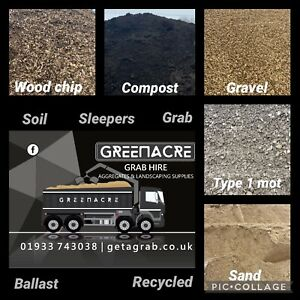 Grab Hire / muck away service and aggregate supplies Northamptonshire