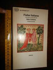 GG LIBRO: FIABE ITALIANE ITALO CALVINO VOL. 2 EINAUDI 1956 GLI STRUZZI 24**