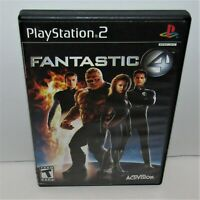 Fantastic 4 (Sony PlayStation 2, 2005) Fantastic Four PS2 Complete Tested Works
