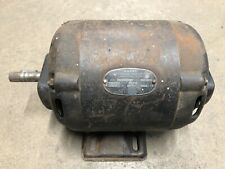 Montgomery Ward Electric Motor 12hp 1750rpm 110vac Vintage Wood Jointer Planer