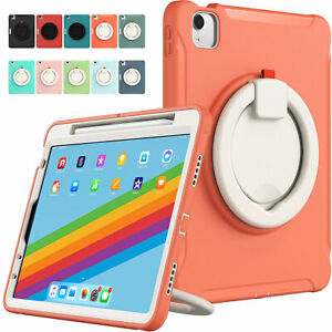 Kids Rotatable Handle Stand Case For iPad Pro 12.9 2021 Pro 11'' Air 4th 10.9''