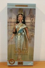 NRFB DOTW Barbie Princess of Cambodia 2004 Dolls of the World Collection