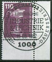 Berlin Nr. 668 Formnummer FN 2B Eckrand gestempelt ESST Berlin 12 Typ I LUXUS