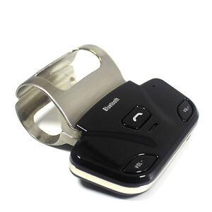 Universal Steering Wheel Bluetooth Car Kit Speakerphone Stereo Handsfree