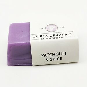 Patchouli & Spice Handmade Natural Vegan Soap Bar- Cruelty free Kairos Originals