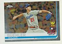 2019 Topps Chrome Update #89 WALKER BUEHLER Los Angeles Dodgers
