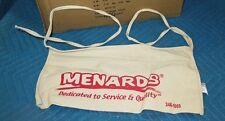 *NEW* Menards Canvas Nail Apron Bag, Cash Change Flea Market/ Garage sale pouch