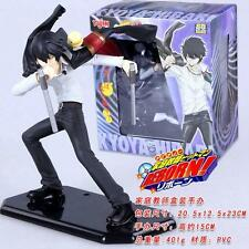 Katekyo Hitman Reborn Hibari Kyoya Painted PVC Action Figure Anime Figurine 15cm