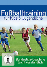 DVD Fussballtraining For Kids and Youth Professional Bundesliga Coach