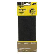 New 3M 9090NA Drywall Sanding Screen 4.375 in x 11.25 in, 2-Sheet Medium-Grit