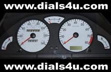 PEUGEOT 106 Mk1 (1991-2003) - 110mph / 130mph / 140mph - WHITE DIAL KIT