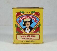 Chiquilin Spanish Mild Paprika Pimentón Dulce Tin, 2.64 Oz - New - Free Shipping