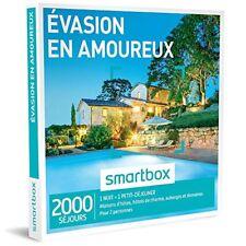 Smartbox Évasion en amoureux sous blister Validité 11/ 2019