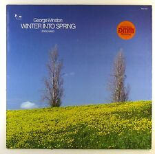"12"" LP - George Winston - Winter Into Spring - T3103 - washed & cleaned"